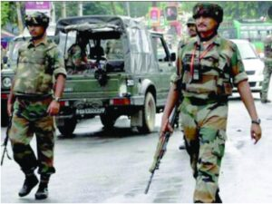 COUNTER INSURGENCY IS NOT A POLICEMAN'S JOB